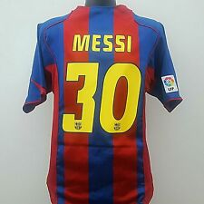 Barcellona Shirt Messi 30 (L) per adulti 2004/2005 HOME FOOTBALL JERSEY BARCA