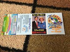 1986 MLB BASEBALL KANSAS CITY ROYALS POCKET SCHEDULE NM