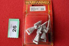 Juegos taller Warhammer High Elf swordmasters de Hoeth x3 Elfos Nuevo y en caja de metal fuera de imprenta
