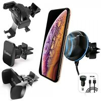 Universal Car Mount Air Vent Holder Stand For Cell Phone Samsung iPhone GPS