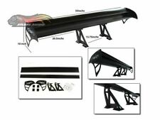 GT Wing Type S Racing Aluminum Adjustable Rear Spoiler BLACK For Saturn
