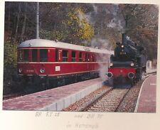 Elektro-Triebwagen ET 25 015 a/b Personenzuglokom. 75 1118 Ansichtskarte e98-1