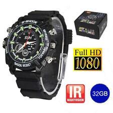32GB FULL HD 1080P Spy Watch Mini Hidden Camera Video/Voice Cam DV/DVR Recorder