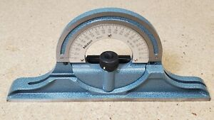 Mitutoyo reversible protractor No. 180-301 *MINT* for combination square set