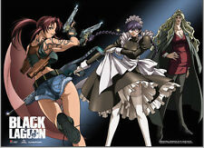 Black Lagoon Group Wall Scroll Poster Anime Manga NEW