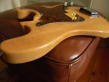 Vintage Loaded Precision P Bass Guitar Body. Made in Japan. Project