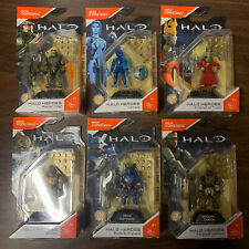 Mega Construx Halo HEROES SERIES 5 Complete Set Lot Of 6 Master Chief Cortana