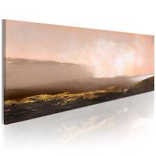 100% Handgemalt – Gemälde / Bilder Leinwand Abstrakt 100x40 0101-6_MK