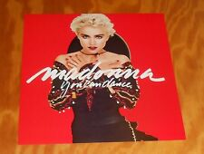 Madonna You Can Dance Poster 2-Sided Flat Square 1987 Promo 12x12