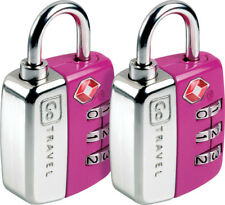 Go Travel Twin Travel Sentry® TSA 3 Dial Combination Luggage Padlock (Ref 344)