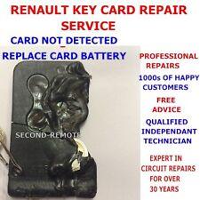 Riparazione Manutenzione- Renault Chiave Carte - Laguna, Megane, Espace, Scenic