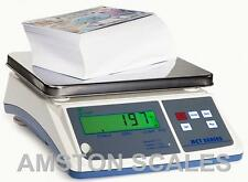 DIGITAL COUNTING PARTS COIN SCALE 3.3 x LB 1.5 KG x 0.05 G INVENTORY PAPER PILL