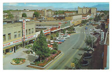 Grand Junction Colorado view eastward along Main Street posted 1910