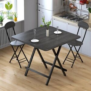 Folding Portable Table Simple Square Home Dining Coffee Table Outdoor Garden