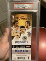 2016 NBA Finals Game 7 Full Ticket Stub PSA 10 - Cavs 1st Title LeBron 3rd Ring