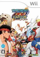 USED Wii Tatsunoko VS. Capcom Ultimate All Stars no benefits 32247 JAPAN IMPORT