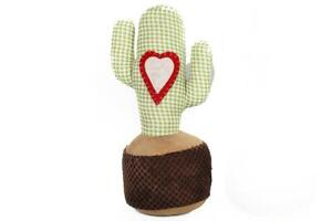 NEW CACTUS Doorstop Check Pattern Heart Cacti Fun Quirky Home Decoration Gift