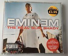 EMINEM - THE REAL SLIM SHADY (PARENTAL ADVISORY) - SINGLE CD