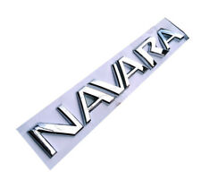 "Chrome "" NAVARA "" Rear Badge Emblem Sticker Decal For NISSAN"