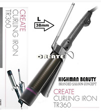 Professional Create Curling Marcel type Iron TR360 L-Szie (38mm)  MADE IN KOREA