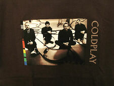 COLDPLAY NEW OFFICIAL XL T-SHIRT PHOTO STUDIO US IMPORT NOT CD PATCH PIN POSTER