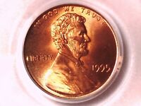 1995 P Lincoln Memorial Cent PCGS MS 66 RD Doubled Die Obverse 71083606