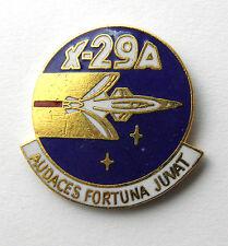 GRUMMAN X-29-A AVIATION USAF NASA AIRCRAFT LAPEL PIN BADGE 1 INCH