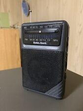Radio Shack AM/FM Radio 12-454 (TESTED)