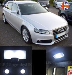 AUDI A4 S4 RS4 B8 Avant Full White LED Interior Light Kit Upgrade