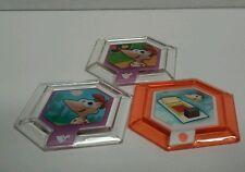 DISNEY INFINITY 2.0 Originals Power Disc Lot Phineas Ferb Aerial Area Rug New