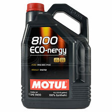 Motul 8100 Eco-nergy 5W-30 Fully Synthetic Engine Motor Oil 5 Litres 5L