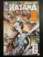 KATANA #2a (2013 The New 52, DC Comics) ~ VF/NM Comic Book