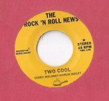 ROCK N ROLL NEWS Two Cool 45 RECORD PRIVATE 80s ROCK POP SAMPLER VAN HALEN