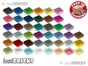 5 Pack of NEW LEGO Tiles 1x1 (Part 3070 / 3070b) + SELECT COLOUR ++ FREE POSTAGE
