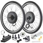 """26"""" Electric Bicycle Front/Rear Wheel 48V 1000/1500W Ebike Motor Conversion Kit"""