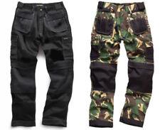 Pantalones de hombre cargo color principal negro de poliéster
