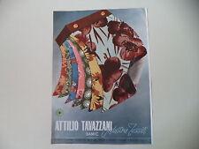advertising Pubblicità 1950 INDUSTRIE TESSILI ATTILIO TAVAZZANI SAMIC - MILANO