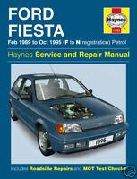 Haynes Ford Fiesta 89-95 Petrol Repair Manual 1595 NEW