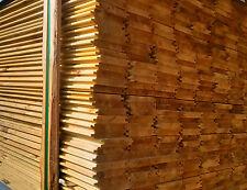 Perline in legno impregnato mm.20x120x3000 da esterni doghe a incastro trattate