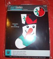 Artiste Felt Stocking Kit - Snowman - 5003199