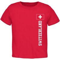 World Cup Switzerland Red Toddler T-Shirt