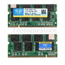 Quality Brand XIEDE 2GB 2x1GB DDR333 PC2700 Laptop DIMM Memory RAM SDRAM 200 PIN