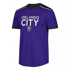 Official MLS Men's Orlando City SC Soccer Jersey Purple Shirt Size 2XL XXL NWT
