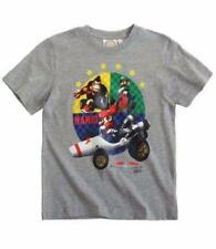 Camisas y camisetas de niño de 2 a 16 años de color principal gris