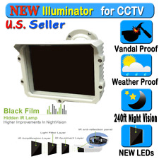 LED Infrared Night vision IR Light illuminator lamp 240ft for CCTV
