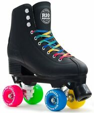 Rio Roller Figure Quad Skate Adults Skates Unisex Adult black Bearings ABEC7