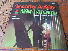 DOROTHY ASHBY Afro Harping LP GEFFEN reissue VG++ soul jazz funk