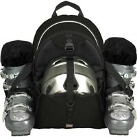 Transpack Sidekick Lite Snow Gear Bag-Black