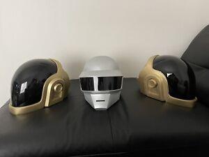 Daft Punk Helmet replica Thomas Bangalter Fully ASSEMBLED (METALLIC Silver)
