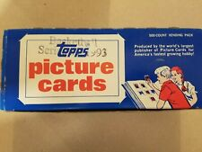 1993-94 Topps Basketball Series 1 Vending Box (unopened & unsearched Shaq Jordan